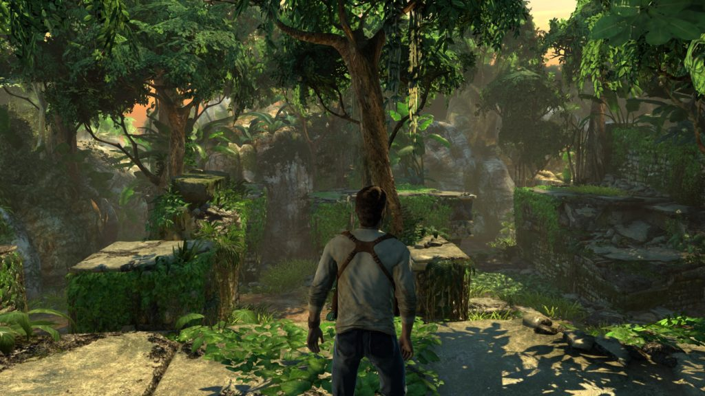 Le platine uncharted remastered est une course de fond